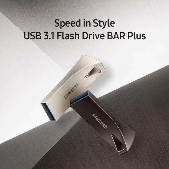 历史新低!Samsung 三星 BAR Plus 256GB 高速U盘 44.99加元包邮!