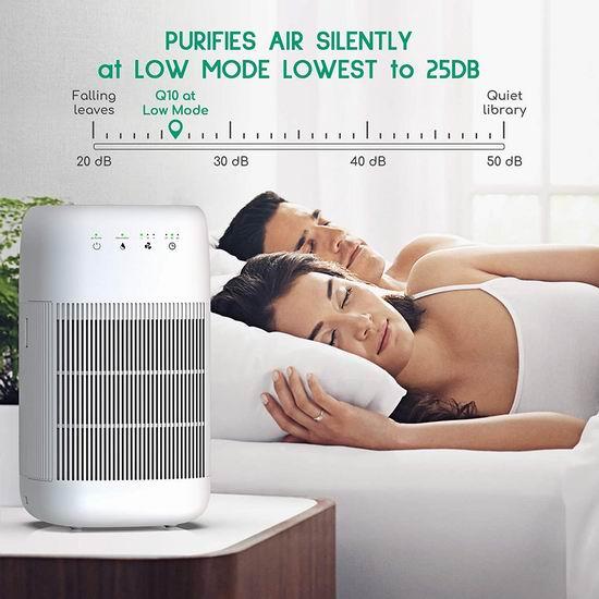 历史新低!Afloia HEPA 二合一 净化+除湿 空气净化器5折 84.99加元包邮!免税!
