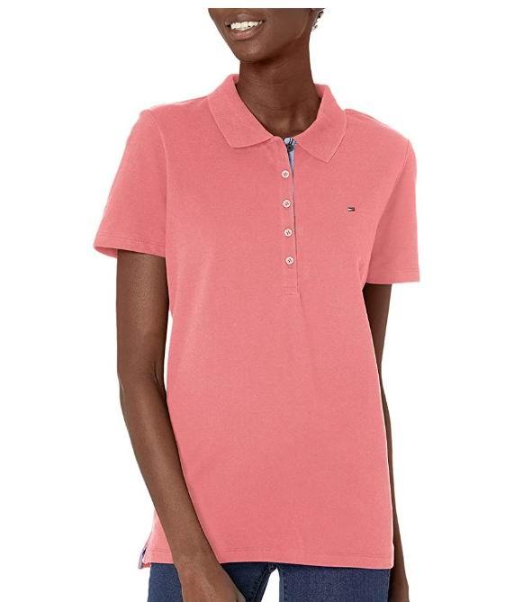 Tommy Hilfiger  女士经典短袖Polo衫 28.12加元(S/M码)