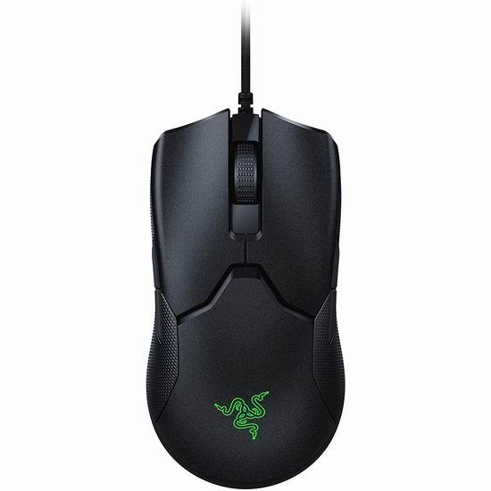 Razer Viper 雷蛇毒蝰 8KHz 电竞游戏鼠标 99.99加元包邮!