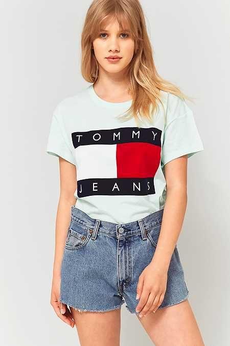 Tommy Hilfiger 女士 Logo T恤 20.51加元起,2色可选
