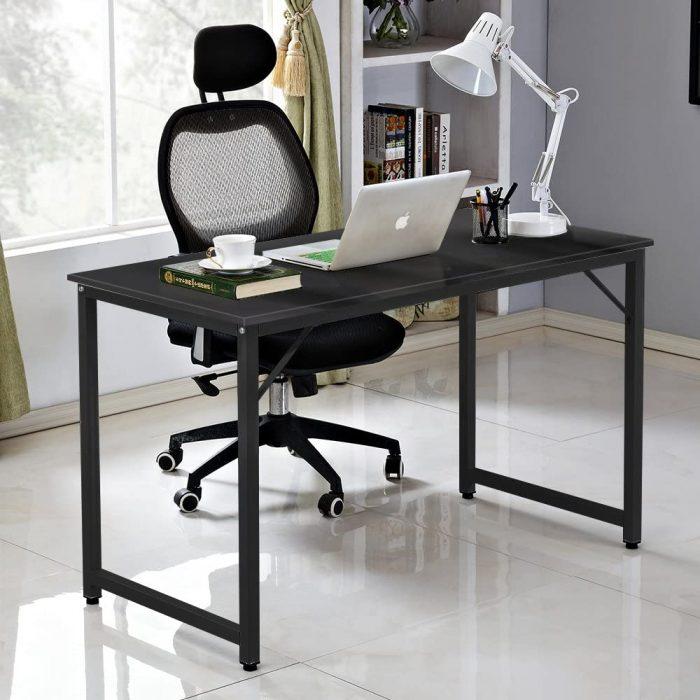 历史新低!DlandHome 39.5英寸/47英寸 时尚电脑桌/书桌4.4折 49-59加元包邮!