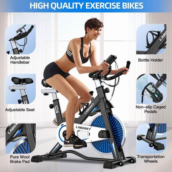 历史新低!LABGREY 家用静音健身自行车7.4折 339.99加元包邮!