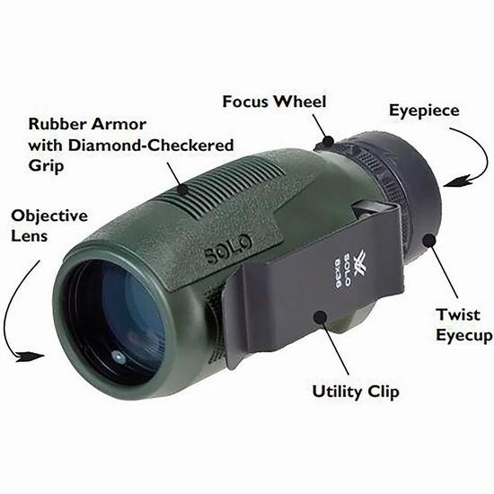 超级白菜!Vortex Optics 10x36 专业户外单筒望远镜0.7折 20.32加元清仓!
