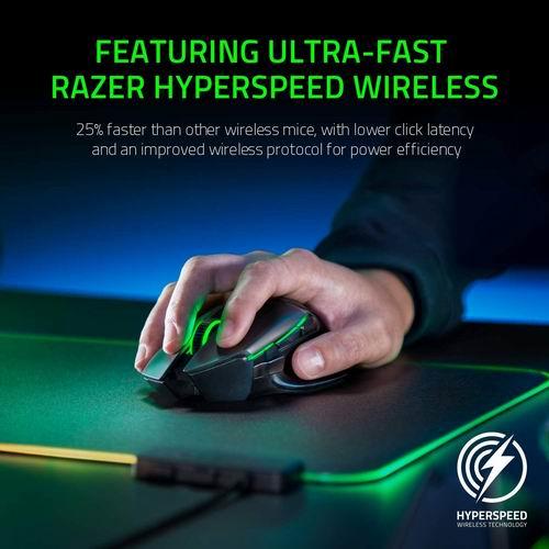 Razer Basilisk Ultimate Hyperspeed无线游戏鼠标 7.1折 142.96加元,原价 199.99加元,包邮