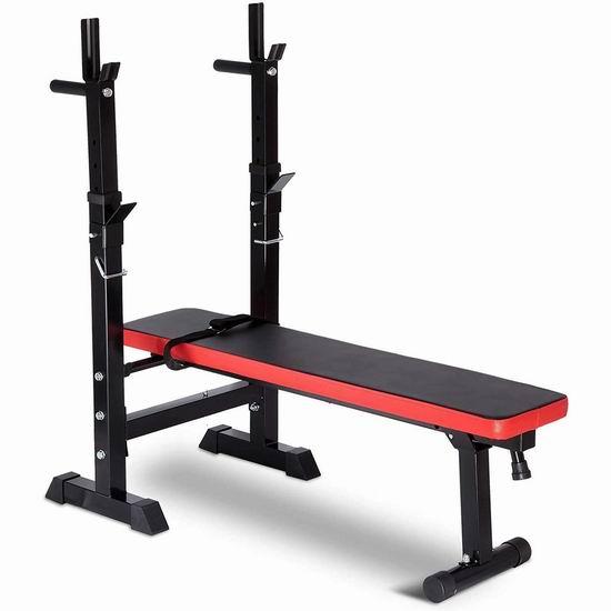 历史新低!Comigeewa 工字钢加强 多功能家用健身凳6折 149.99加元包邮!免税!