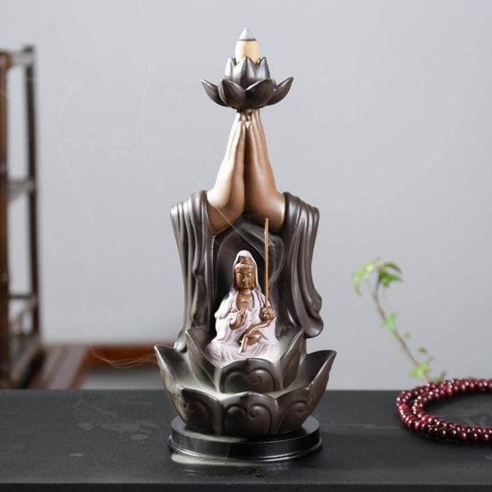 精选多款 OUYEE 创意檀香倒流香炉 陶瓷盆景摆件 10.99加元起!送价值13.99加元倒流香炉!
