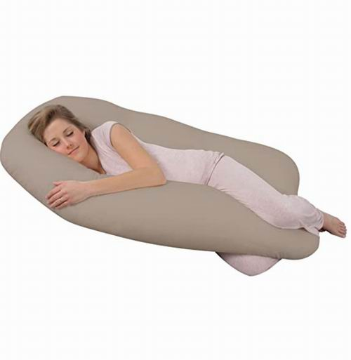 Leachco U型身体支撑枕/孕妈身体枕 6.6折 83.27加元,原价 125.5加元,包邮
