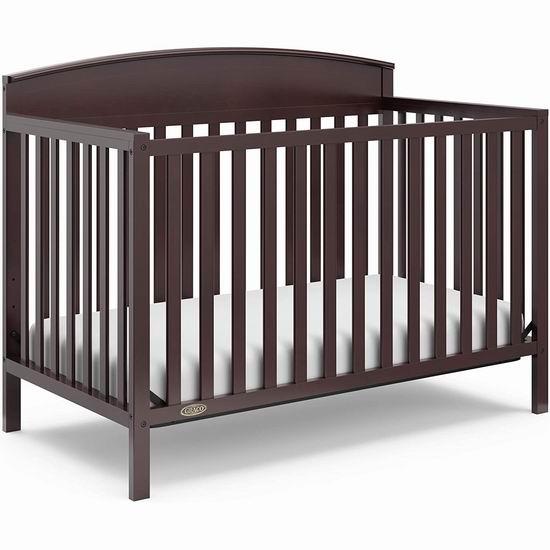 历史新低!Graco Benton 四合一成长型 婴儿床 189.97加元包邮!