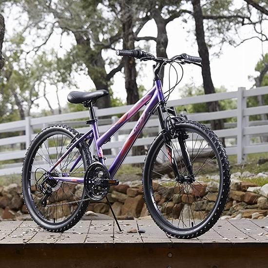 Huffy 24英寸 21速 变速山地自行车 206.99加元包邮!