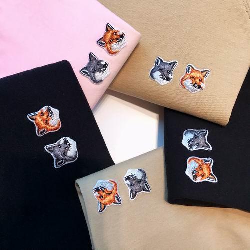 Maison Kitsune 小狐狸服饰5.3折起+额外6.5折:小狐狸T恤 81.25加元
