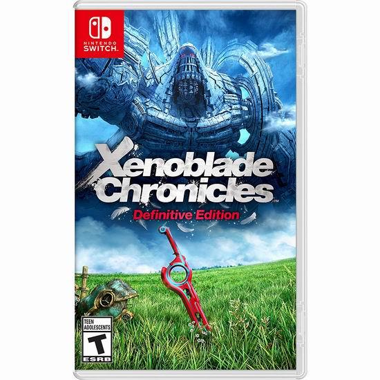 历史新低!《Xenoblade Chronicles 异度神剑:终极版》Switch版游戏 54.95加元包邮!