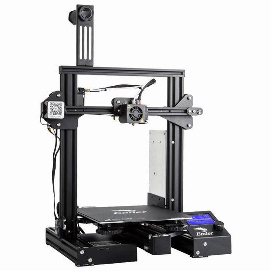 Comgrow Ender 3 Pro 3D打印机DIY套件 275.39加元限量特卖并包邮!