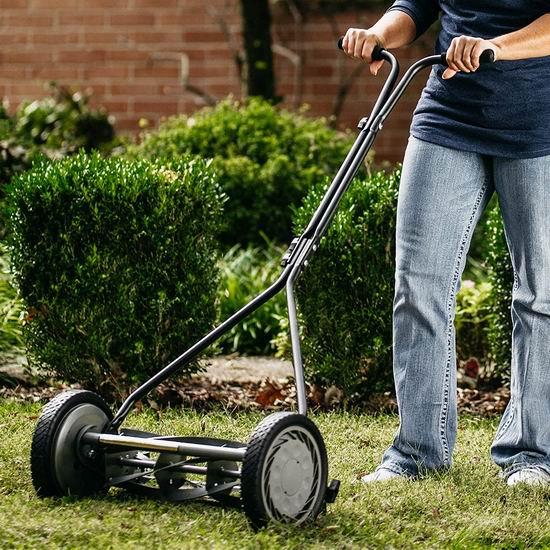 American Lawn Mower 1415-16 16英寸 手动推卷式割草机 135.73加元包邮!边割草边健身!
