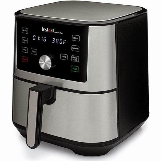 历史新低!Instant Vortex Plus 6夸脱 6合1多功能 空气炸锅 烤箱 139.98加元包邮!
