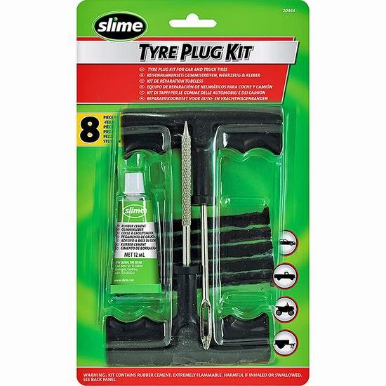 白菜价!历史新低!Slime 24011 汽车外胎修补工具套件2.5折 2.75加元清仓!