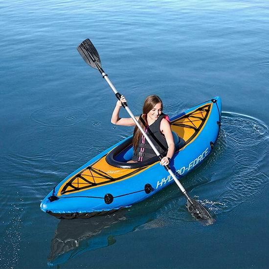 近史低价!Hydro-Force Cove Champion 单人充气独木舟4.8折 113.81加元包邮!