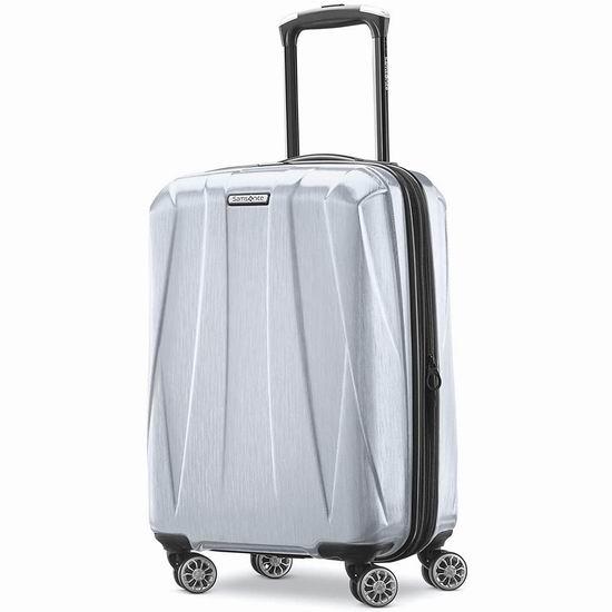 Samsonite 新秀丽 Centric 2 20寸 全PC超轻硬壳 可扩展 登机行李箱 87.95-89.78加元包邮!2色可选!