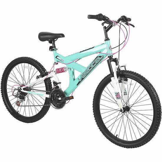 近史低价!Krusher Dynacraft 24寸 18速 变速自行车 209.83加元包邮!