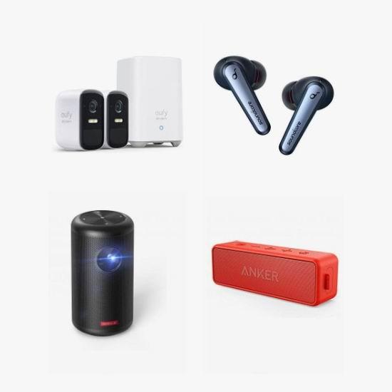 金盒头条:精选多款 Anker、eufy 等品牌可视门铃、监控摄像头、无线耳机、投影仪、USB充电器、无线充电板、充电宝、无线音箱等4.9折起!