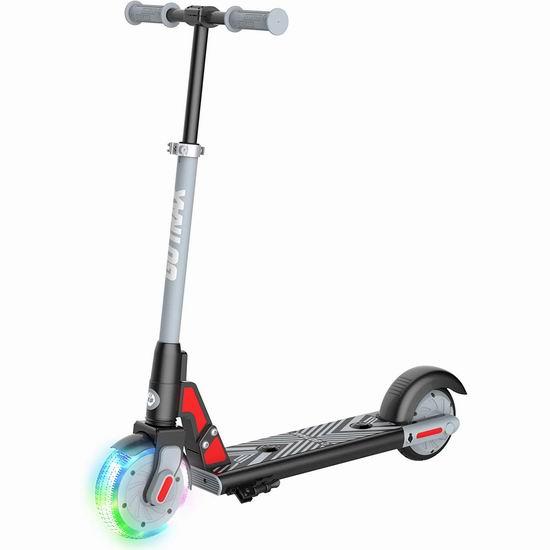 历史新低!新品 GOTRAX GKS LUMIOS 发光前轮 儿童电动滑板车 181.99加元包邮!4色可选!免税!