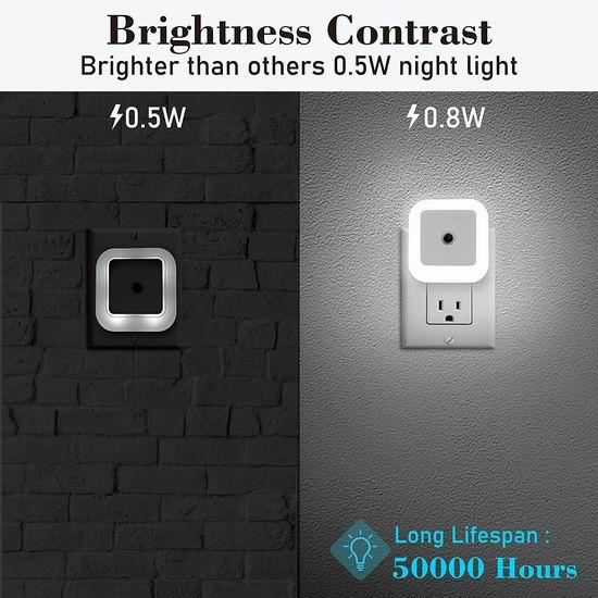 历史新低!JACKYLED 0.8W 智能光感应 LED节能小夜灯6件套 14.99加元!