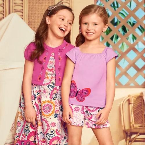 Gymboree 儿童夏季服饰 5折起:T恤9.98加元、打底裤 9.98加元、连衣裙17.18加元