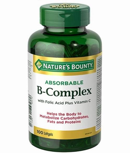 Nature's Bounty 自然之宝 高效B族维生素+维C 100粒 8.54加元