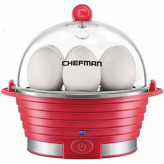 Chefman RJ24-V2 多功能家用煮蛋器/蒸煮器 24加元!