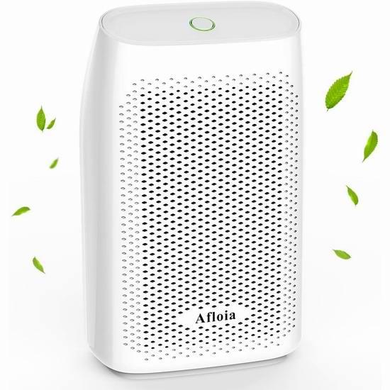 历史新低!Afloia 2升 超静音 家用除湿机 60.99加元包邮!3色可选!免税!