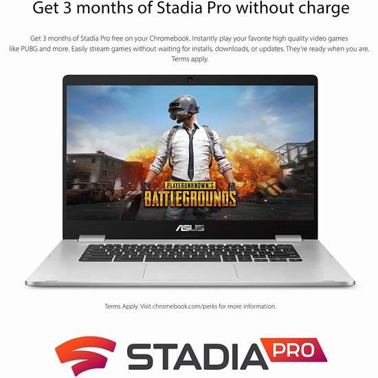 历史新低!Asus 华硕 Chromebook C423NA-DH02 14英寸 窄边框 笔记本电脑5.1折 199加元包邮!
