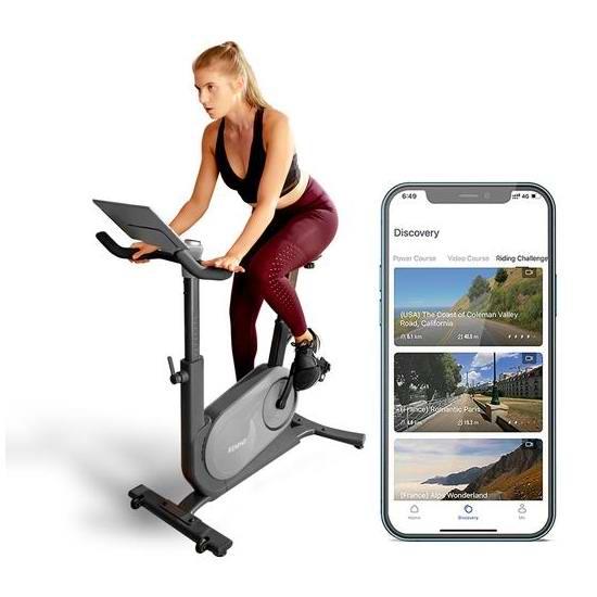 RENPHO AI人工智能 健身自行车4.9折 494.99加元限量特卖并包邮!无需月费,模拟实景骑行!
