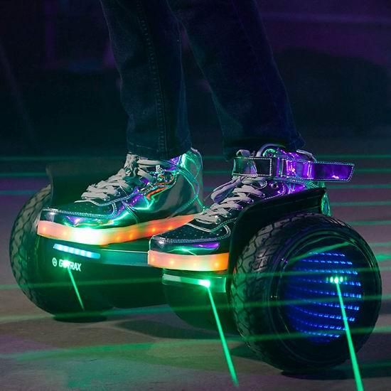 Gotrax 蓝牙音乐 炫酷脉冲灯 12公里超长续航 体感平衡车6.6折 217.49加元包邮!