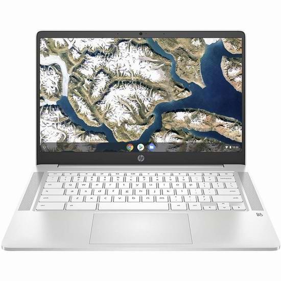 历史新低!HP 惠普 Chromebook 14a-na0030ca 14英寸 谷歌笔记本电脑(4GB/128GB)5.6折 307.1加元包邮!