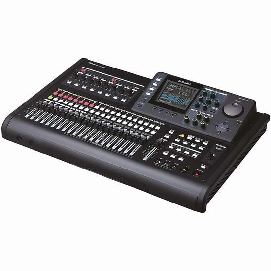 近史低价!TASCAM DP-32SD 多音轨数码录音机/便携式录音室7.5折 599加元包邮!