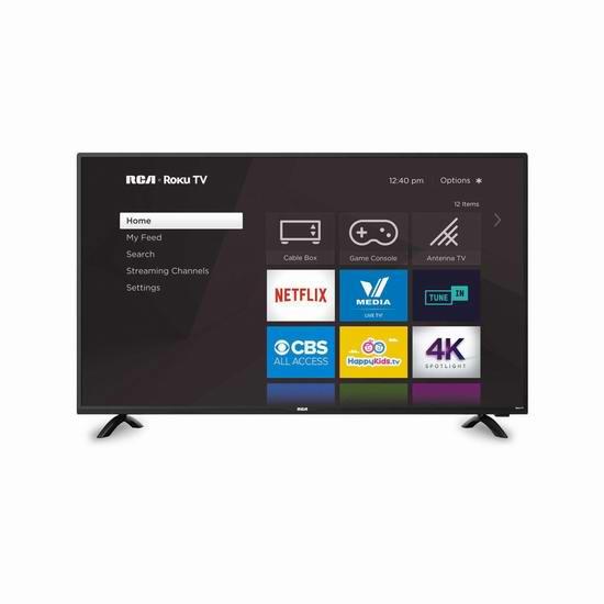 RCA RTRU5028 50英寸 4K超高清 Roku 智能电视 199.96加元清仓!
