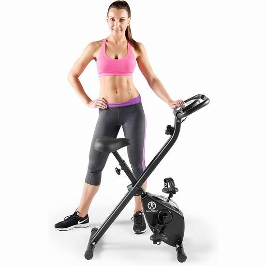 历史新低!Marcy 可折叠磁阻健身自行车 147.92加元包邮!