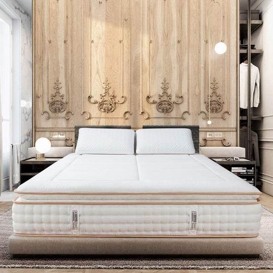 BedStory 12英寸 中等硬度 袋装弹簧+记忆海绵 Twin床垫 210.99加元包邮!免税!