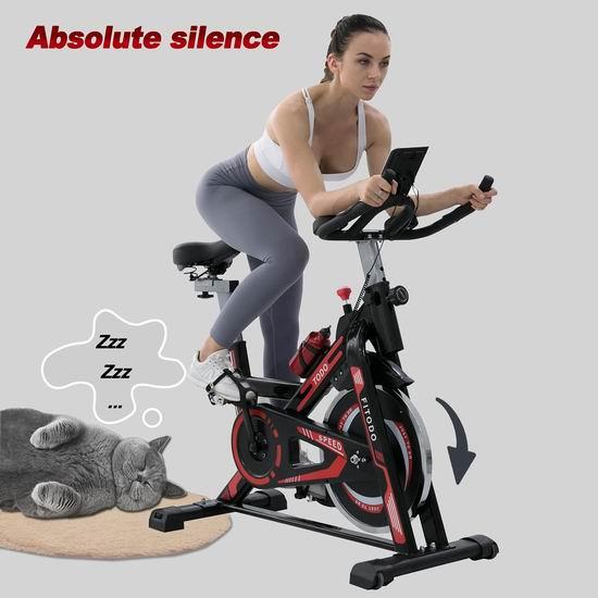 历史新低!TODO 家用静音健身自行车5.1折 199.99加元包邮!