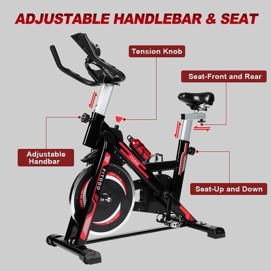 TODO 家用静音健身自行车 219.99加元包邮!