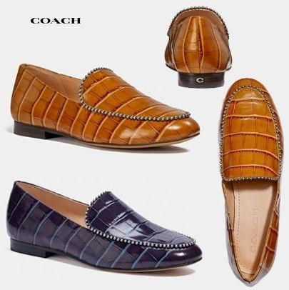 Coach Harper女士乐福鞋 58美元,原价 145加元,包邮无关税