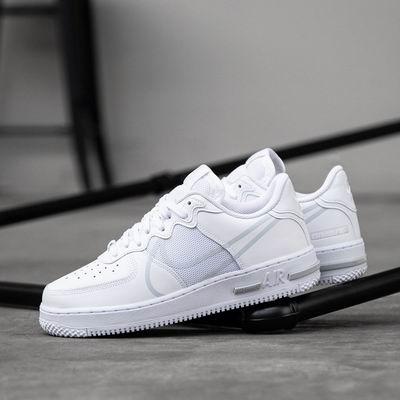 万年不打折!NIKE Air Force 1 React女士经典小白鞋 6.9折 109加元,原价 160加元,包邮