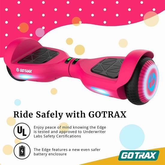 Gotrax 双电机 体感平衡车 169.99加元包邮!