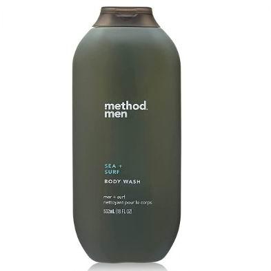 Method男士沐浴露 海洋+冲浪 532毫升 7.99加元,原价 8.99加元