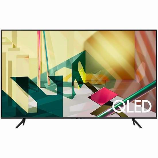 历史新低!Samsung 三星 Q82T 82英寸 4K超高清 QLED智能电视5.6折 2498加元包邮!支持中文语音控制!