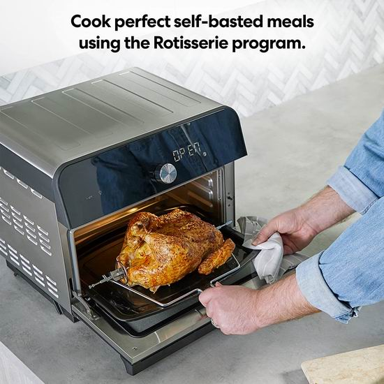 Instant Pot Omni Plus 18升 10合1 多功能烤箱 266.7加元包邮!
