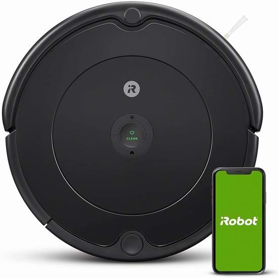 近史低价!iRobot Roomba 694 Wi-Fi 智能扫地机器人 293.97加元包邮!