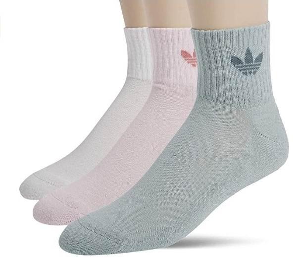 adidas Originals  中性 短袜3件套 9.71加元