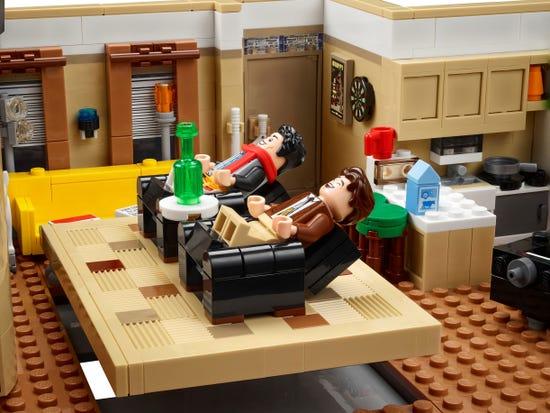 新品上市!Lego 乐高 10292 创意百变高手系列 老友记公寓(2048pcs)199.99加元包邮!