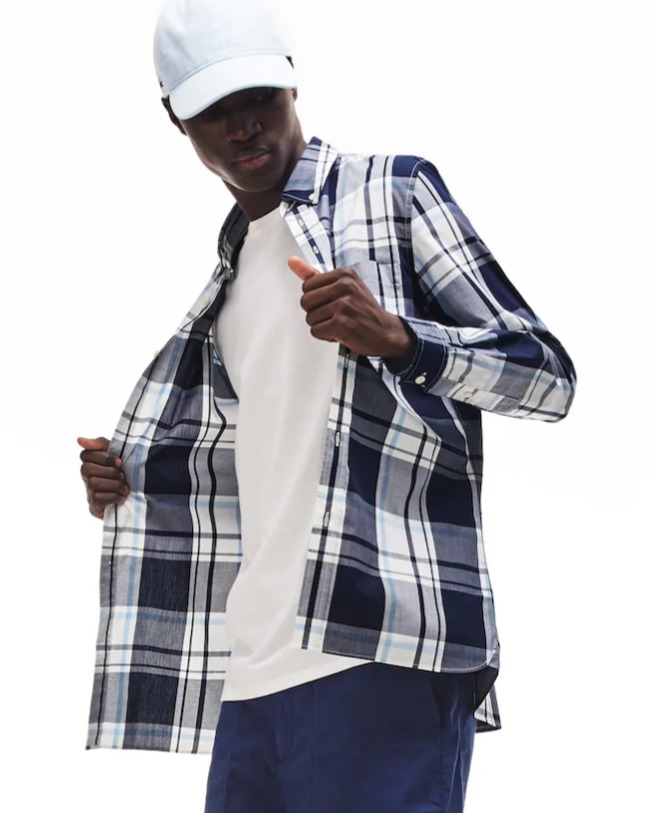 Lacoste 法国鳄鱼大促,精选时尚服饰5折起+包邮!Polo衫53.19加元、封面款T恤 41.99加元